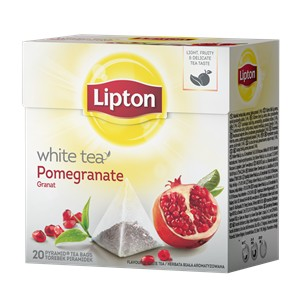 White tea Pomegranate